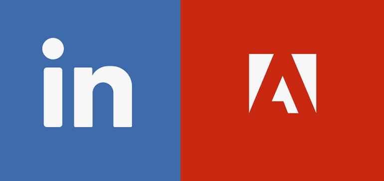 LinkedIn partners with Adobe