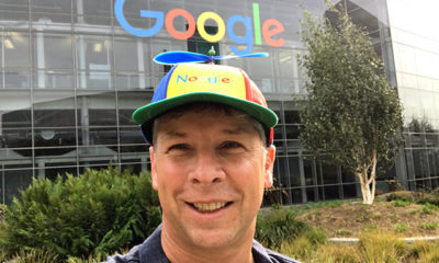 Googler wearing a hat