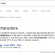 Google title character length