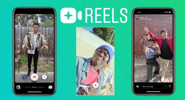 Instagram Reels mode