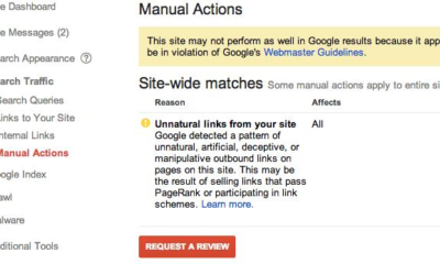 Google manual action