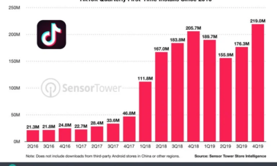 TikTok growth data