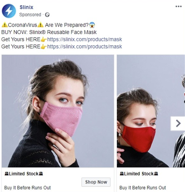 Facebook ads crackdown