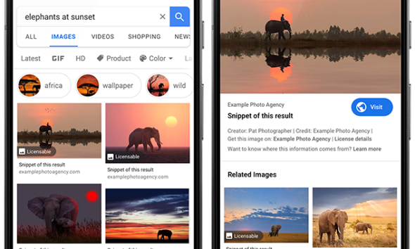 Google Image Licensing
