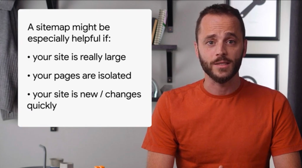 Google's advice on sitemaps