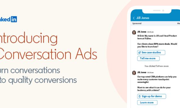 LinkedIn Conversation Ads