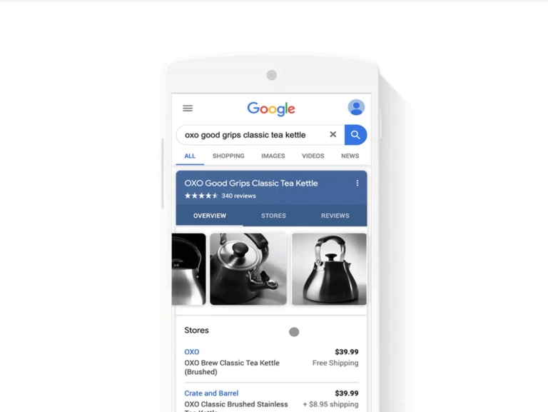 Google Search free listing