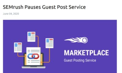 SEMRush pauses guest post service
