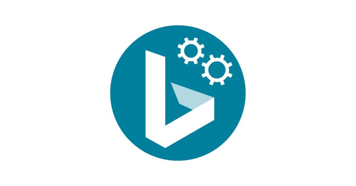 Bing Webmaster account