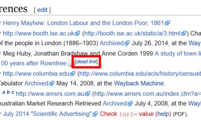Wikipedia links