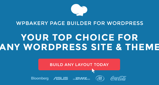 WP Bakery page builder